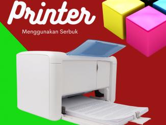 Printer Serbuk Pigmen